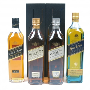 Johnnie Walker The Collection 4 x 20cl