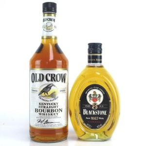 Old Crow Bourbon & Blackstone 8 Year Old