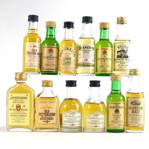 Highland Miniature Selection x 12