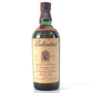 Ballantine's 17 Year Old 1970s