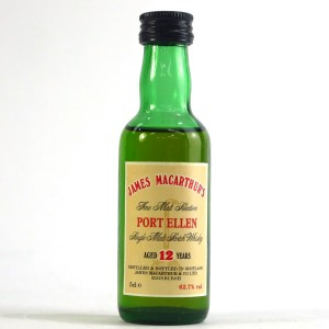 James MacArthur's Port Ellen 12 Year Old Miniature 5cl
