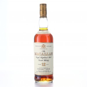 Macallan 12 Year Old 75cl 1990s / US Import