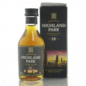 Highland Park 18 Year Old Miniature 5cl
