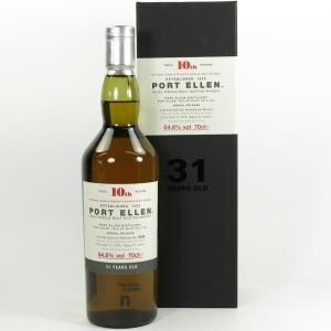 Port Ellen 1978 31 Year Old 10th Release