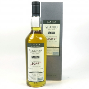 Aultmore 1983 Flora and Fauna Cask Strength