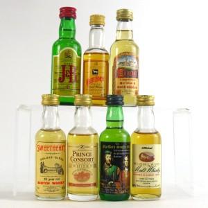 Scotch Whisky Miniature Selection 7 x 5cl