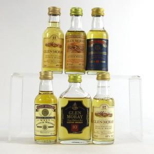 Glen Moray Miniature Selection 6 x 5cl