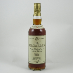 Macallan 1966 18 Year Old front