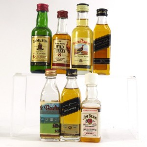 Miscellaneous Whisky Miniature Selection 7 x 5cl