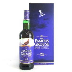 Famous Grouse 21 Year Old Blended Malt