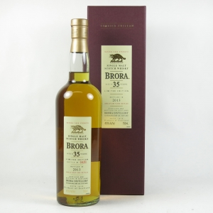 Brora 35 Year Old 2013 Release (US Import) 75cl back