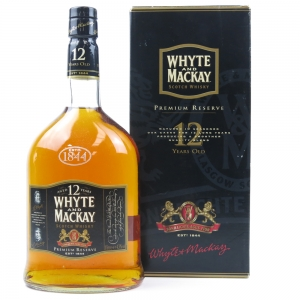 Whyte and Mackay 12 Year Old Premium Reserve 1 Litre