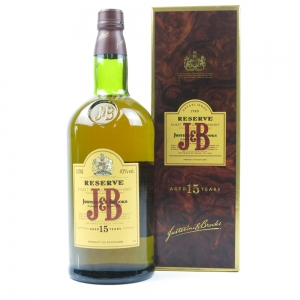 J & B 15 Year Old Reserve 1 Litre