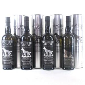 Arran Machrie Moor Cask Strength 1st-4th Editions 4 x 70cl