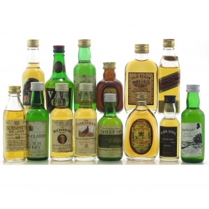 Scotch Whisky Miniature Selection x 16