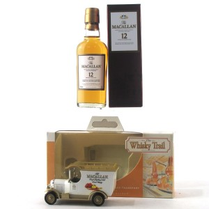 Macallan 12 Year Old Miniature 5cl / Includes Whisky Trail Van