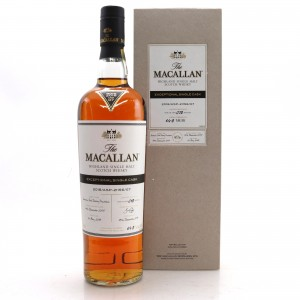 Macallan 2005 Exceptional Cask #21156-07 75cl / 2018 Release - US Import