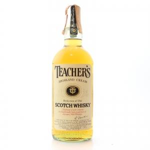 Teacher's Highland Cream 1980s