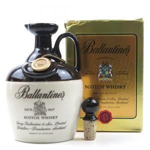 Ballantine's Scotch Whisky Decanter 1980s