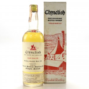 Clynelish 12 Year Old Ainslie and Heilbron Cask Strength 1971 / Edward and Edward