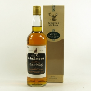 Linkwood 15 Year Old Gordon and Macphail Front