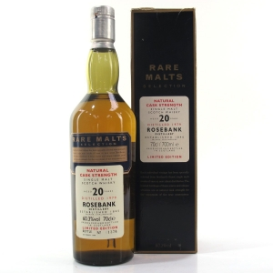 Rosebank 1979 Rare Malt 20 Year Old / 60.3%