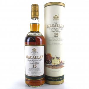 Macallan 15 Year Old 1985 75cl / US Import