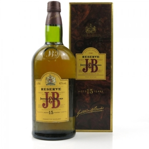 J & B Reserve 15 Year Old 1 Litre