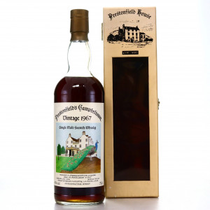 Springbank 1967 Prestonfield House 20 Year Old Sherry Wood