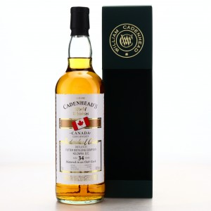 Potter Distilling Company 34 Year Old Cadenhead's World Whiskies