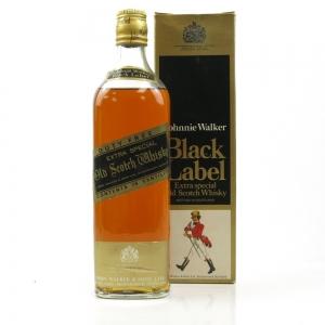 Johnnie Walker Black Label 1970s
