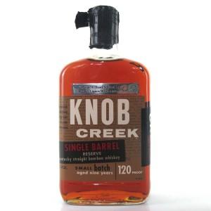 Knob Creek 9 Year Old Single Barrel Reserve 120 Proof / Byron's Liquor Warehouse