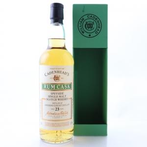 Longmorn 1994 Cadenhead's 23 Year Old / Rum Cask