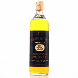Mark Royal De-Luxe Scotch Whisky Special Reserve 1970s