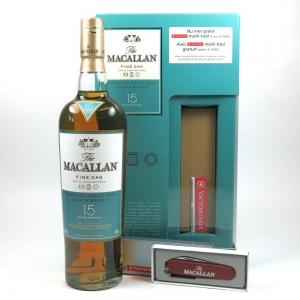 Macallan 15 Year Old Fine Oak Gift Pack