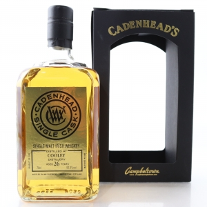 Cooley 1992 Cadenhead's 26 Year Old