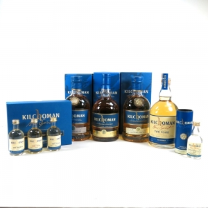 Kilchoman Selection / Inaugural Release / Inaugural 100% Islay and Others 4 x 70cl and 4 x 5cl