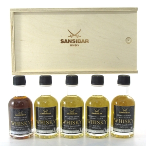 Sansibar Miniature Gift Pack 5 x 5cl / Including Longmorn 18 Year Old