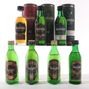 Glenfiddich Miniature Selection 7 x 5cl