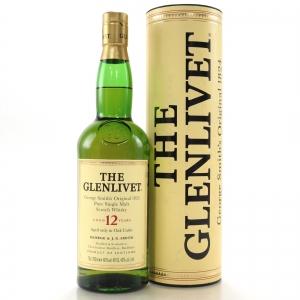 Glenlivet 12 Year Old 1990s