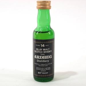 Ardbeg 14 Year Old Cadenhead's Miniature 1970s