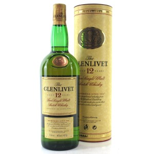 Glenlivet 12 Year Old 1 Litre