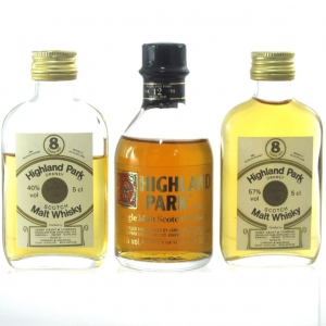 Highland Park Miniatures x 3 / Including 8 Year Old G&M 1970s