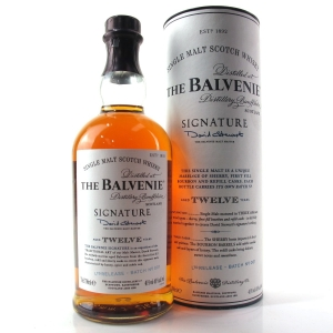 Balvenie 12 Year Old Signature Batch #001