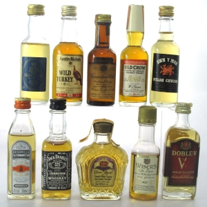 International Whisky Miniature Collection x 10