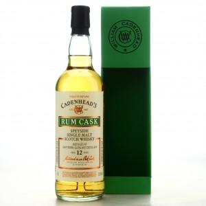 Dufftown 2007 Cadenhead's 12 Year Old Rum Cask