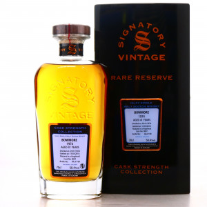 Bowmore 1974 Signatory Vintage 41 Year Old Cask Strength