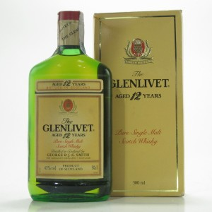 Glenlivet 12 Year Old 1990s 50cl