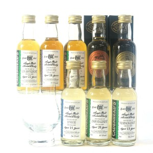 Cadenhead's Tasting Room Miniatures Gift Pack 8 x 5cl / with Glass