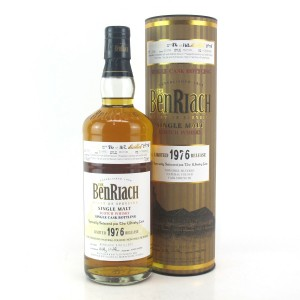 Benriach 1976 Single Cask 33 Year Old #3558 / The Whisky Fair